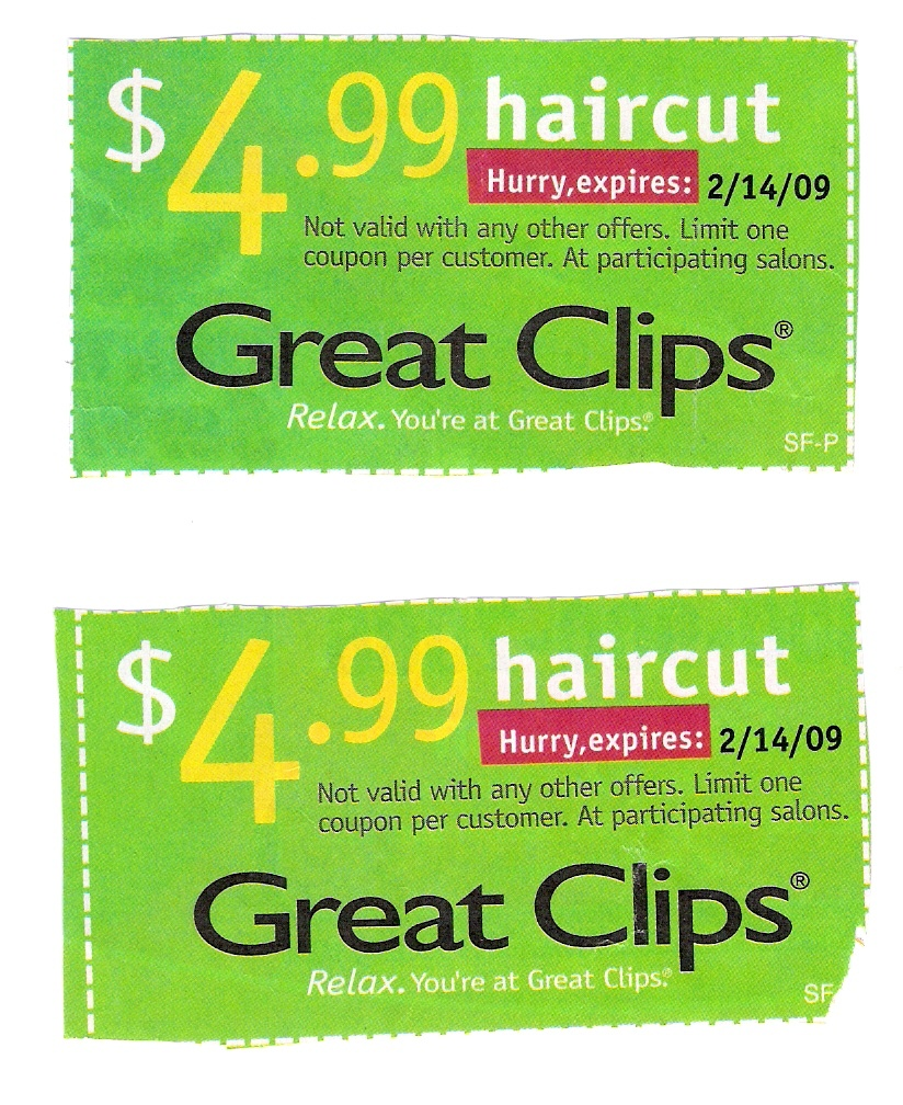 Valpak Great Clips Coupon - New Discounts - Sports Clips Free Haircut Printable Coupon