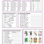 Verb To Be Worksheet   Free Esl Printable Worksheets Madeteachers   Free Printable Verb Worksheets