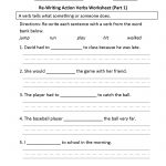 Verbs Worksheets | Action Verbs Worksheets   Free Printable Verb Worksheets