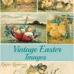 Vintage Easter Images: Adorable Free Printables   House Of Hawthornes   Free Printable Vintage Easter Images