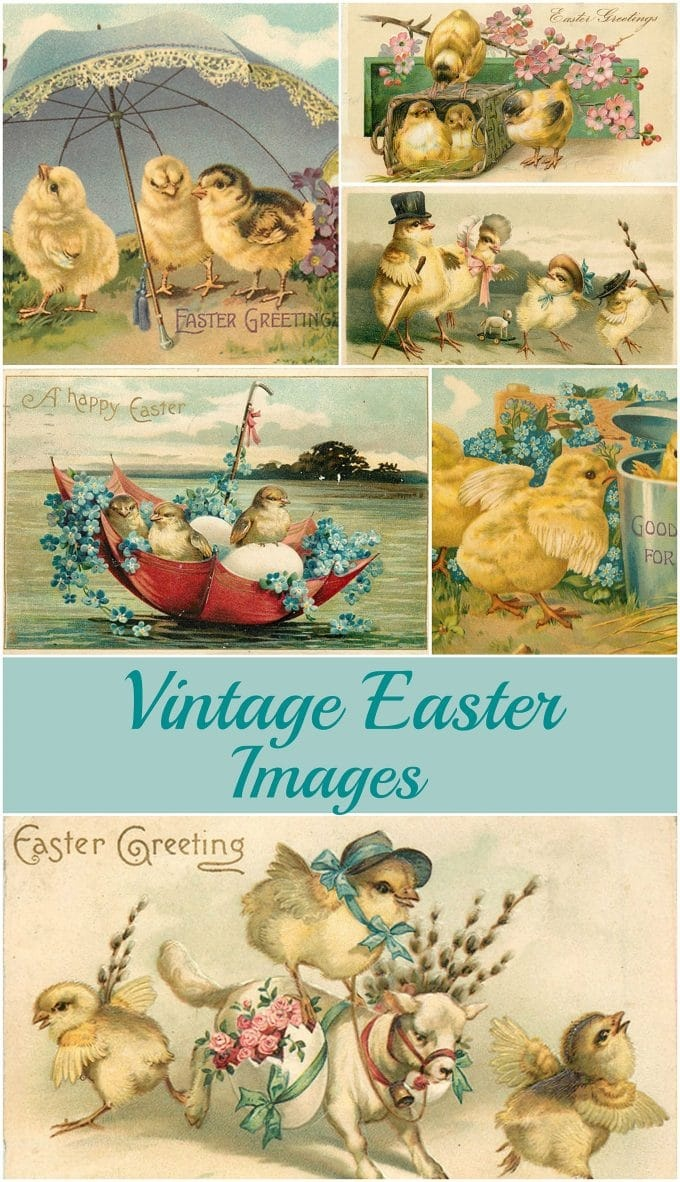 Vintage Easter Images: Adorable Free Printables - House Of Hawthornes - Free Printable Vintage Easter Images