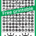 Visual Scanning Activities   Free Printables And Ideas   Your   Scan To Enter Sign Printable Free