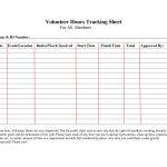 Volunteer+Hours+Log+Sheet+Template | Forms | Community Service Hours   Free Printable Volunteer Forms