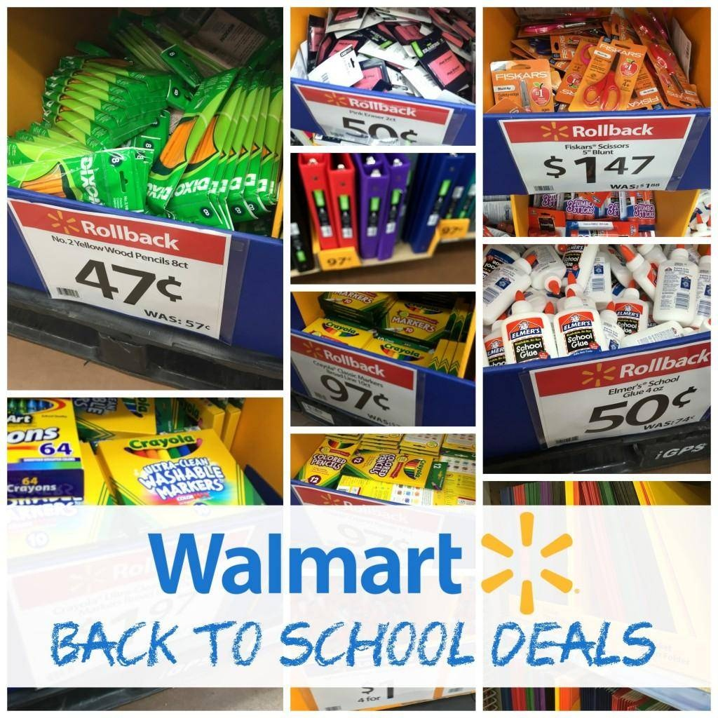 Walmart Back To School Deals 2019 | School Supplies, Backpacks & More - Free Printable Coupons For School Supplies At Walmart