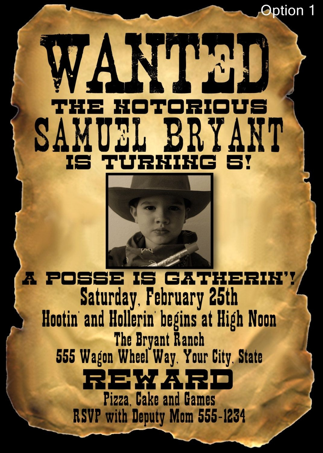 Wanted Poster | Wanted | Salón De Eventos, Salones, Eventos - Free Printable Wanted Poster Invitations