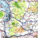 Washington Road Map   Free Printable Map Of Washington State