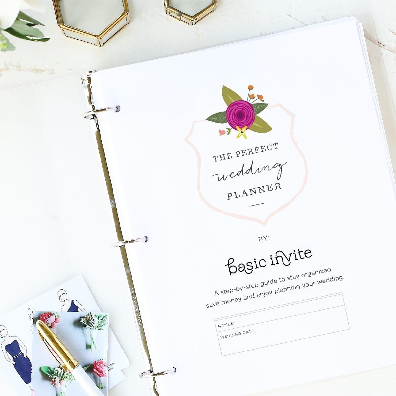 Wedding Planner Printablebasic Invite - Free Printable Wedding Inserts
