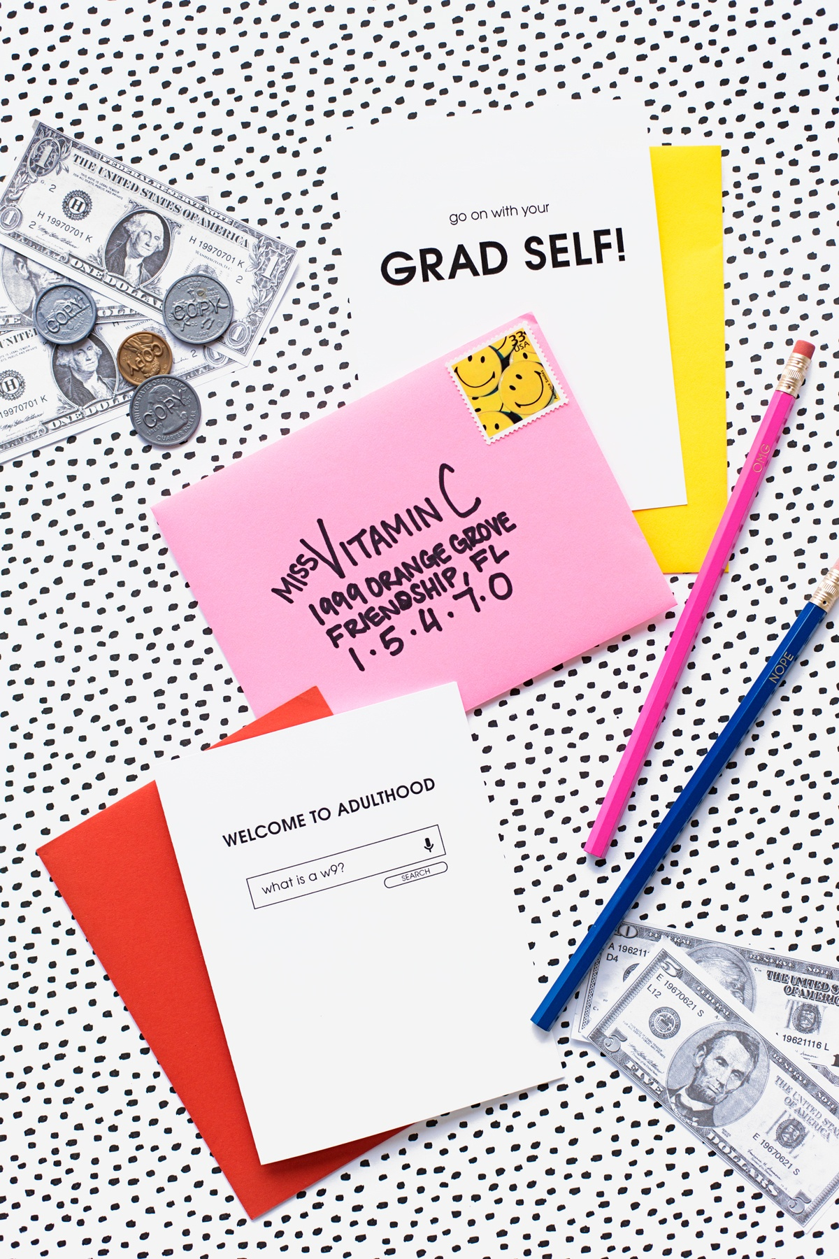 Welcome To Adulthood: Free Printable Graduation Cards - Studio Diy - Free Printable Welcome Cards
