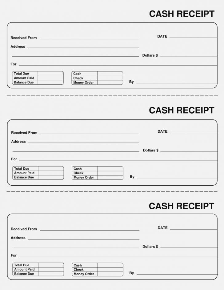 Free Printable Sales Receipts Online