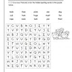 Wonders Second Grade Unit Two Week Two Printouts   2Nd Grade Word Search Free Printable
