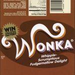 Wonka Bar | Love In 2019 | Wonka Chocolate Factory, Wonka Chocolate - Wonka Bar Wrapper Printable Free