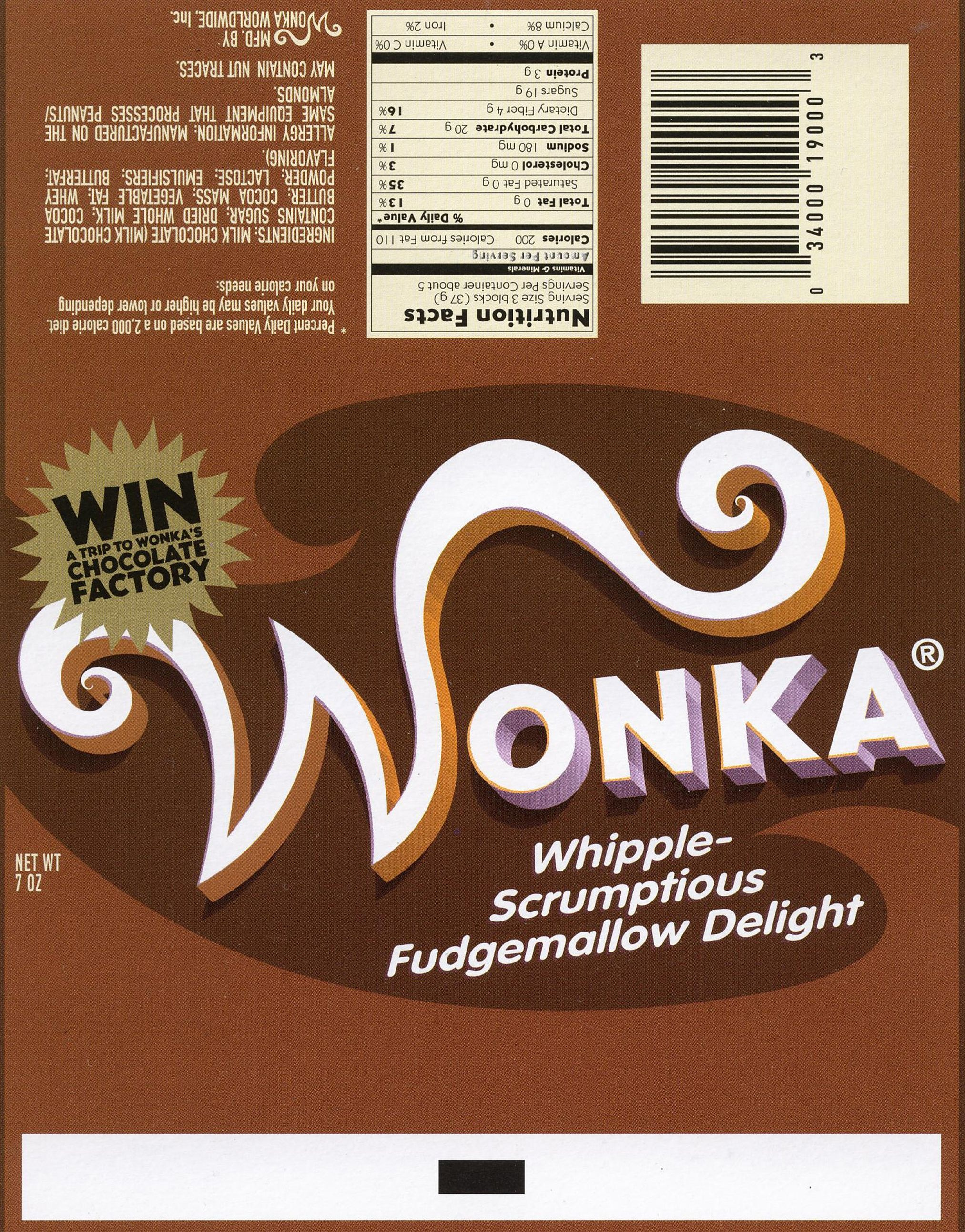 Wonka Bar | Love In 2019 | Wonka Chocolate Factory, Wonka Chocolate - Wonka Bar Wrapper Printable Free