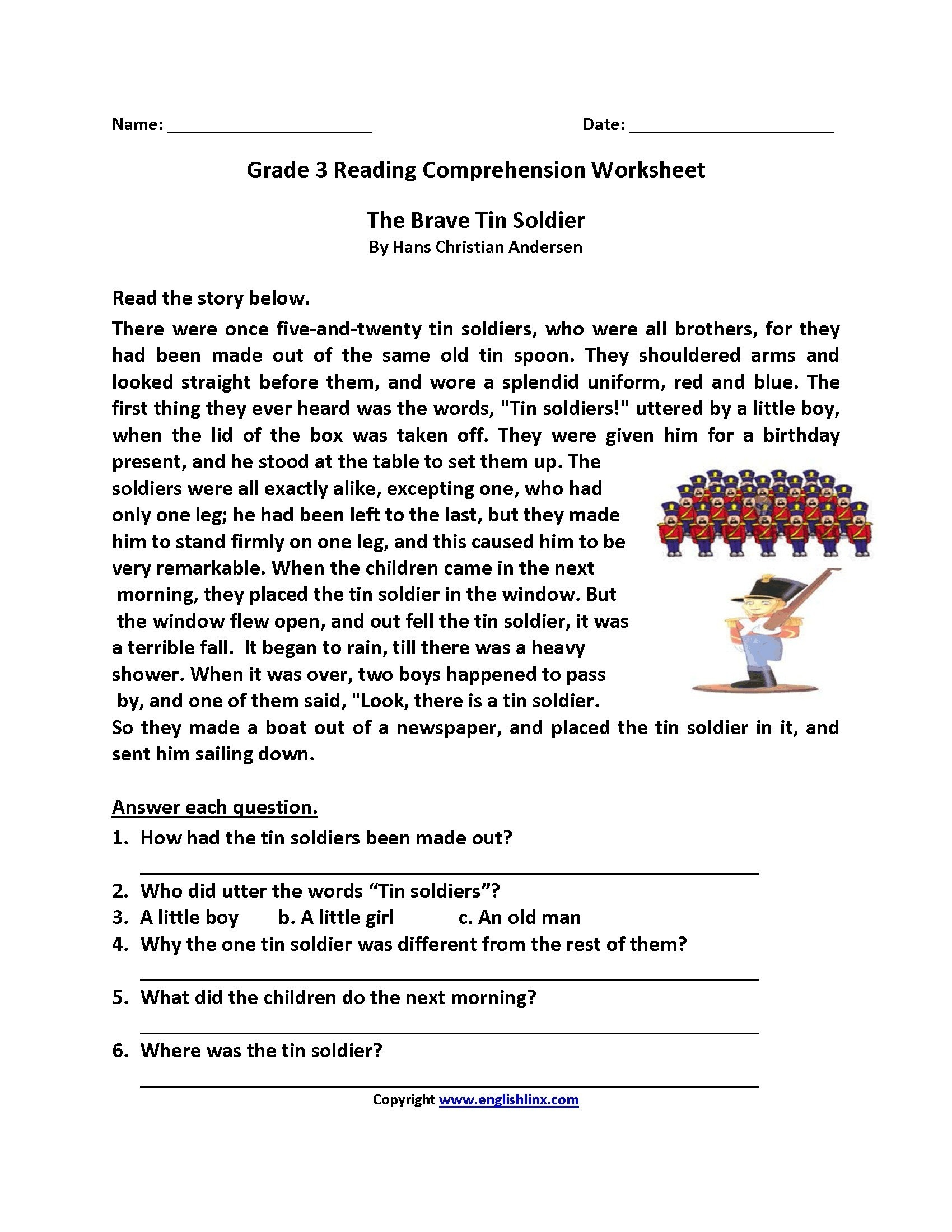 Worksheet : Year English Grammar Worksheets Free Printable Preschool - Third Grade Reading Worksheets Free Printable