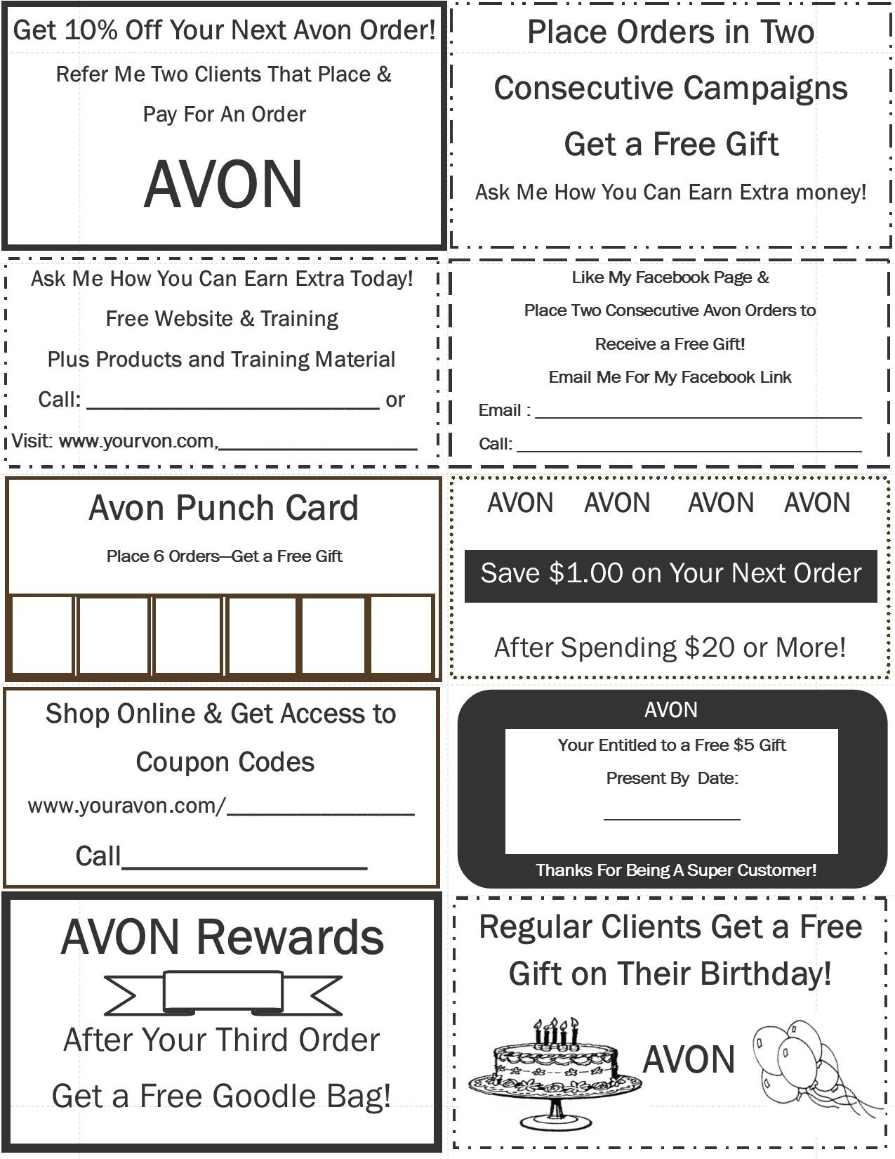 Www.youravon/colleengaffney | Avon In 2019 | Avon, Avon 2017 - Free Printable Avon Flyers