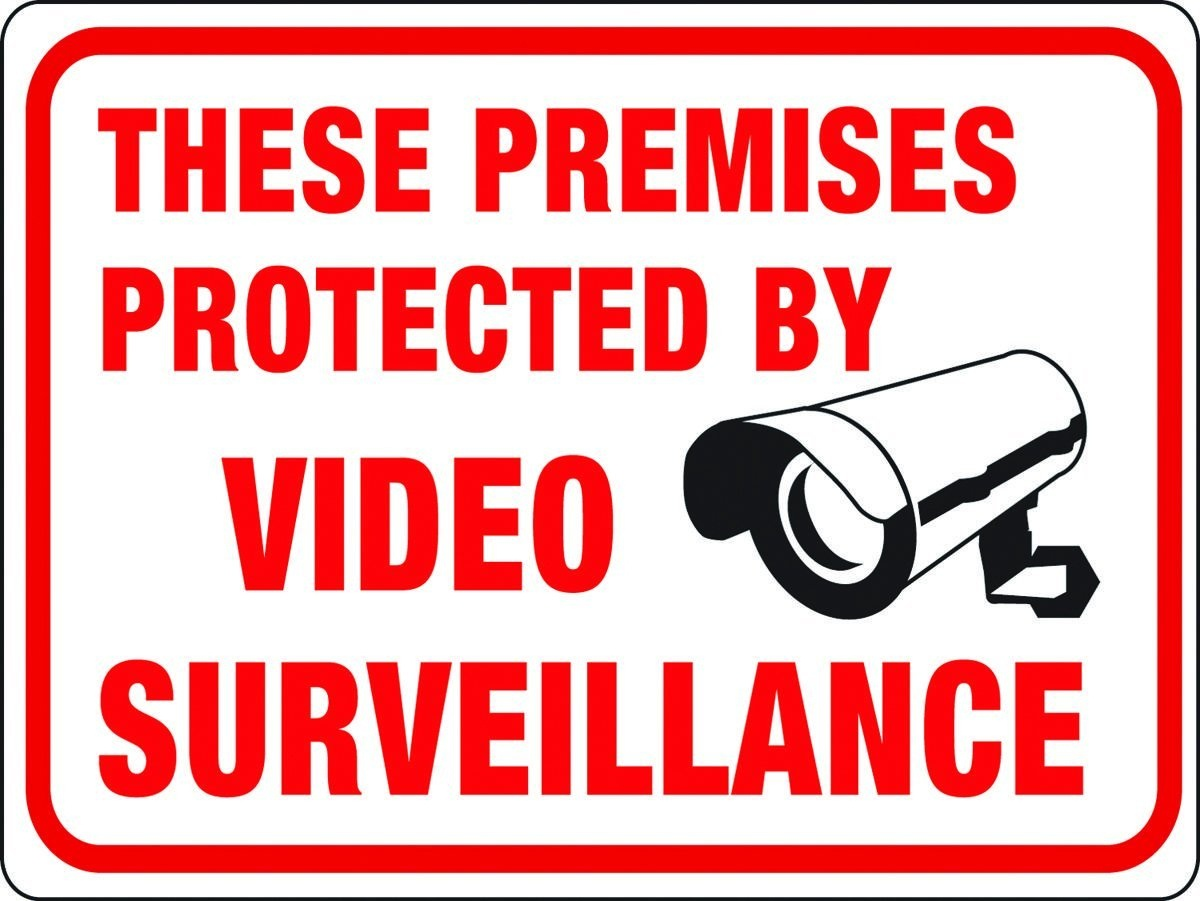 X/ - Paranormal » Thread #20044978 - Printable Video Surveillance Signs Free