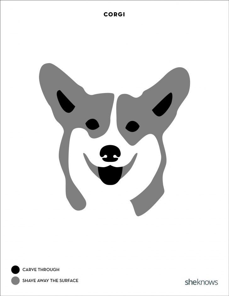 Free Printable Pumpkin Carving Templates Dog