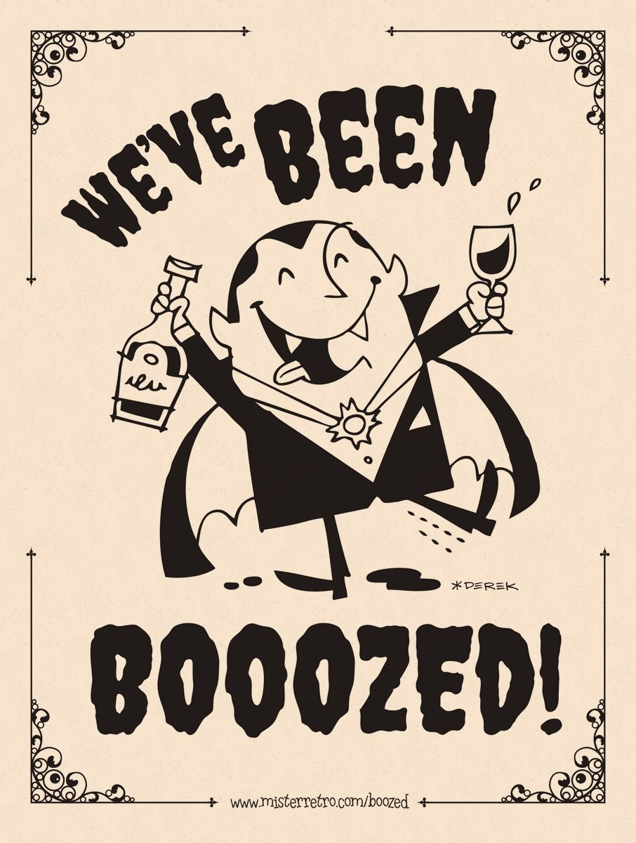 You've Been Boozed! Good Shirt Idea. Maybe Print On Iron On Paper - You Ve Been Boozed Free Printable
