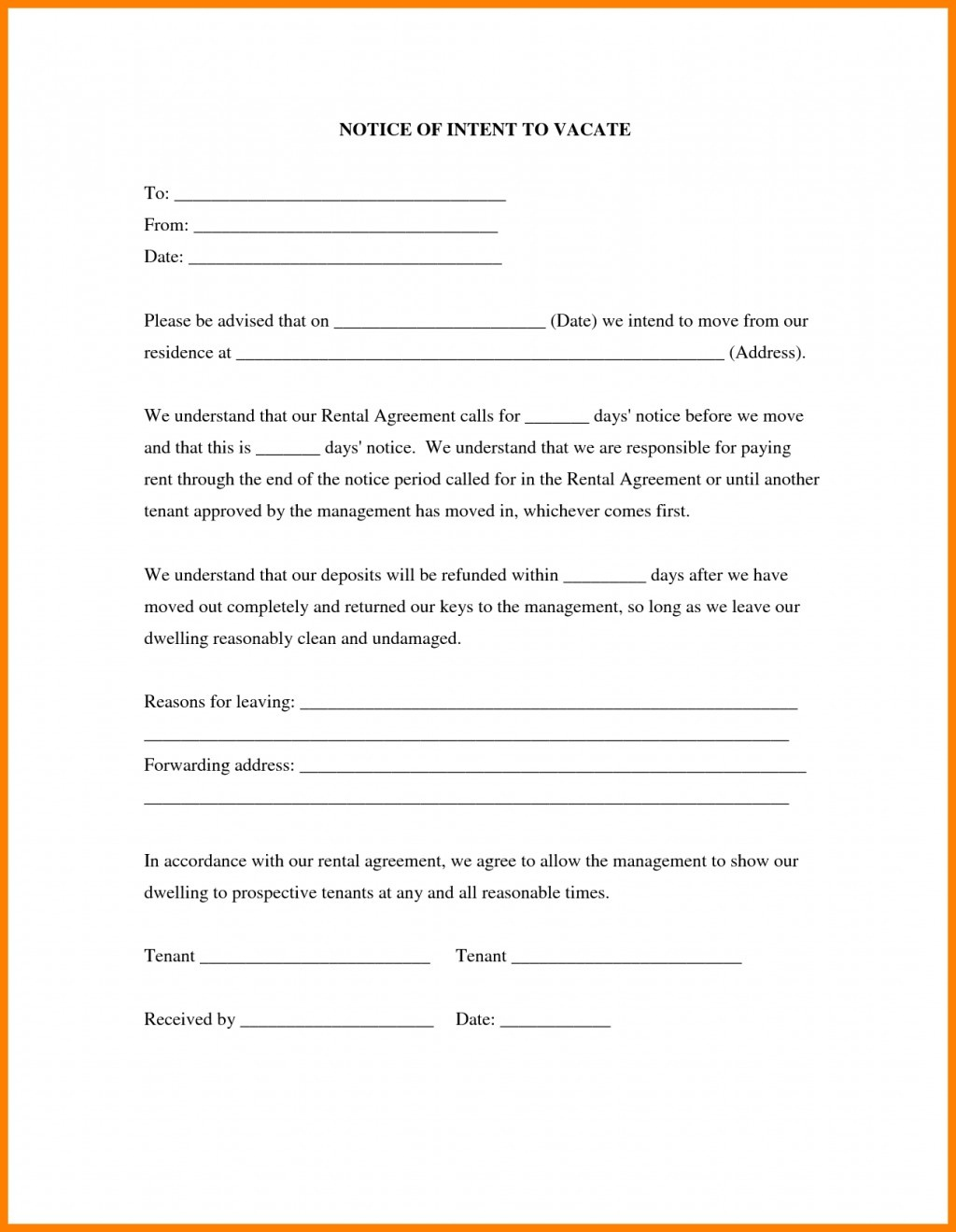 008 Free Printable Eviction Notice Forms Form Day To Vacate Sample - Free Printable Eviction Notice