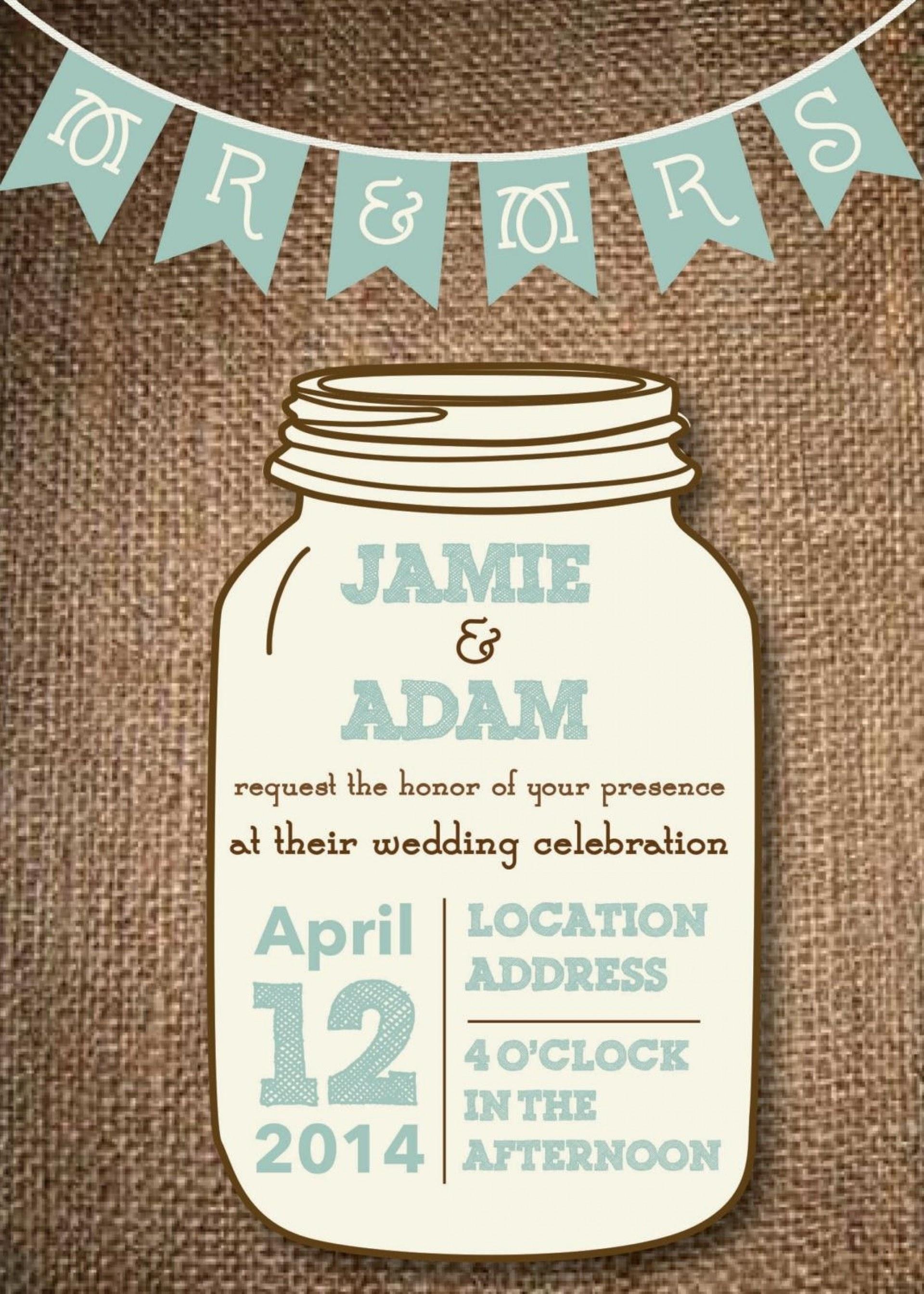 010 Mason Jar Invitation Template Ideas Outstanding Rustic Wedding - Free Mason Jar Wedding Invitation Printable Templates