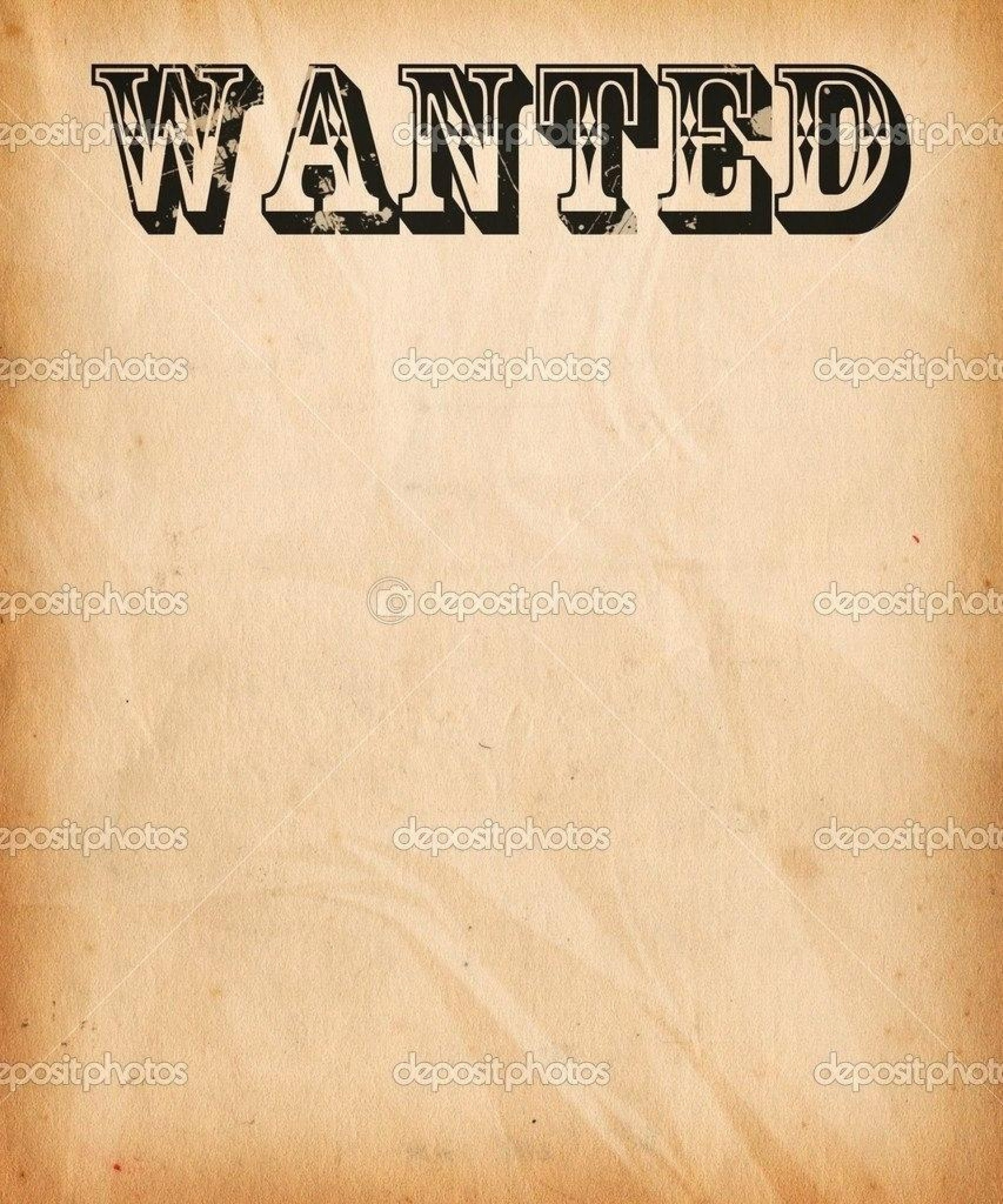 014 Free Wanted Poster Template Printable Lovely Invitation Flyer - Wanted Poster Printable Free