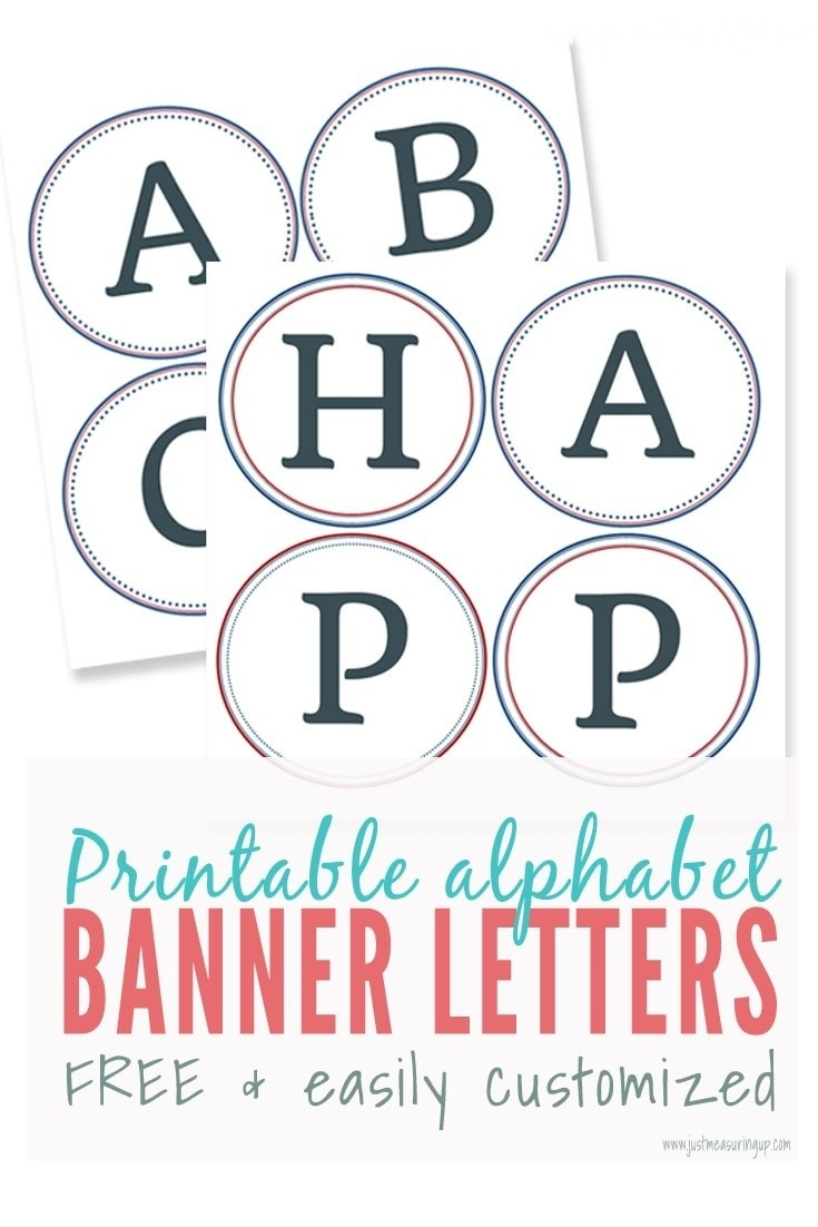 023 Free Printable Alphabet Letters Banner Template Ideas - Printable Banner Letters Template Free