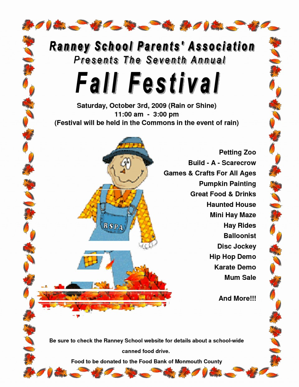 026 Free Printable Fall Flyer Templates Of Best Festival Then - Free Printable Fall Flyer Templates