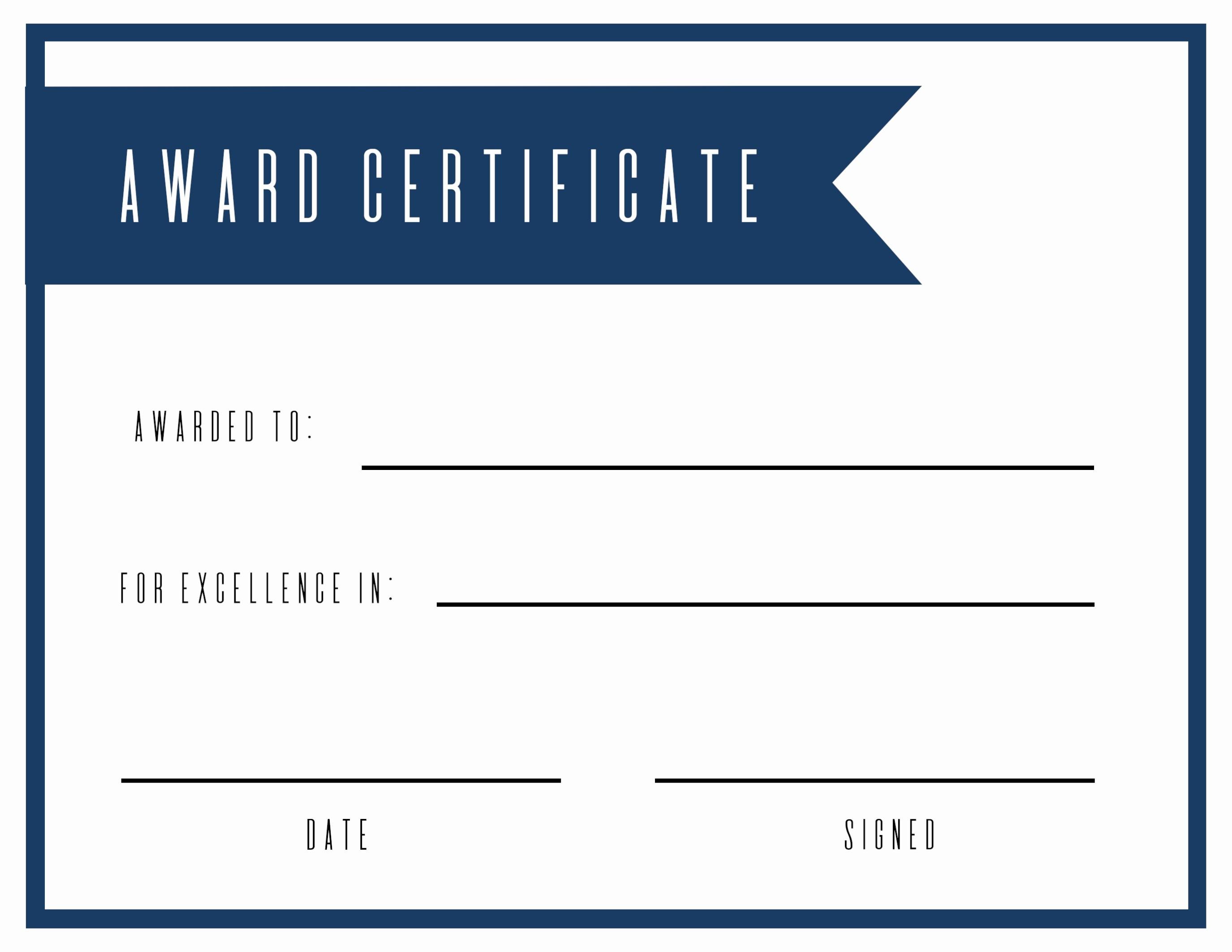 027 Free Printable Diploma Template Elegant Award Certificate Paper - Free Printable Student Award Certificate Template