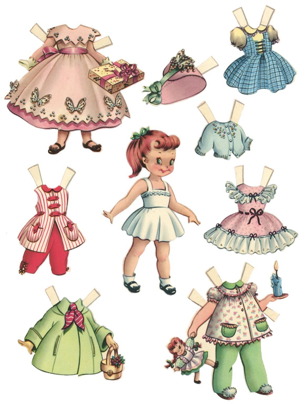 10 Free Printable Paper Dolls Sets !! | Grandparent World | Paper - Free Printable Paper Dolls From Around The World