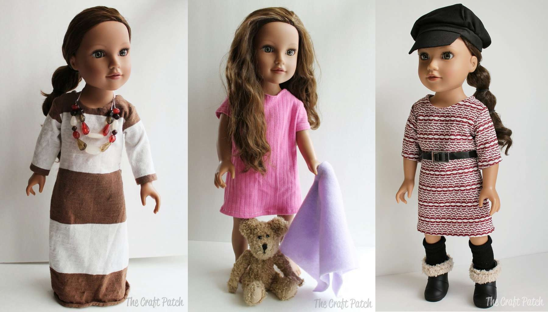 10 Free Sewing Patterns For Doll Clothes - Free Printable Crochet Doll Clothes Patterns For 18 Inch Dolls