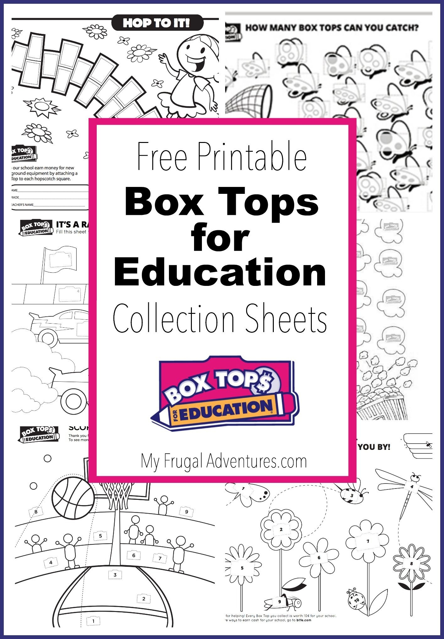 10 Printable Box Tops For Education Collection Sheets | Box Tops - Free Printable Box Tops For Education