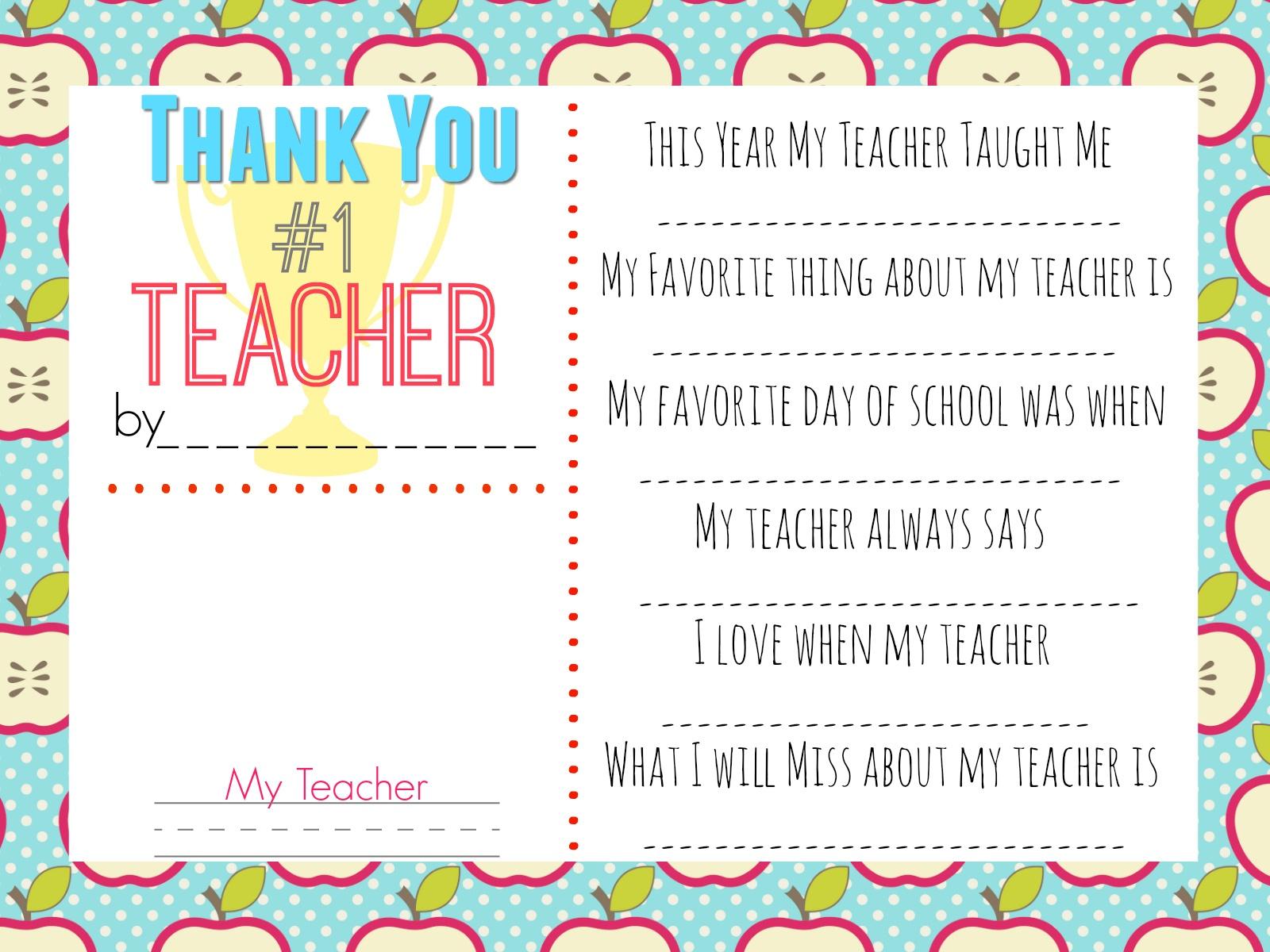 10 Teacher Gift Ideas W/ Free Printable Gift Tags - Hip2Save - Printable Thangles Free