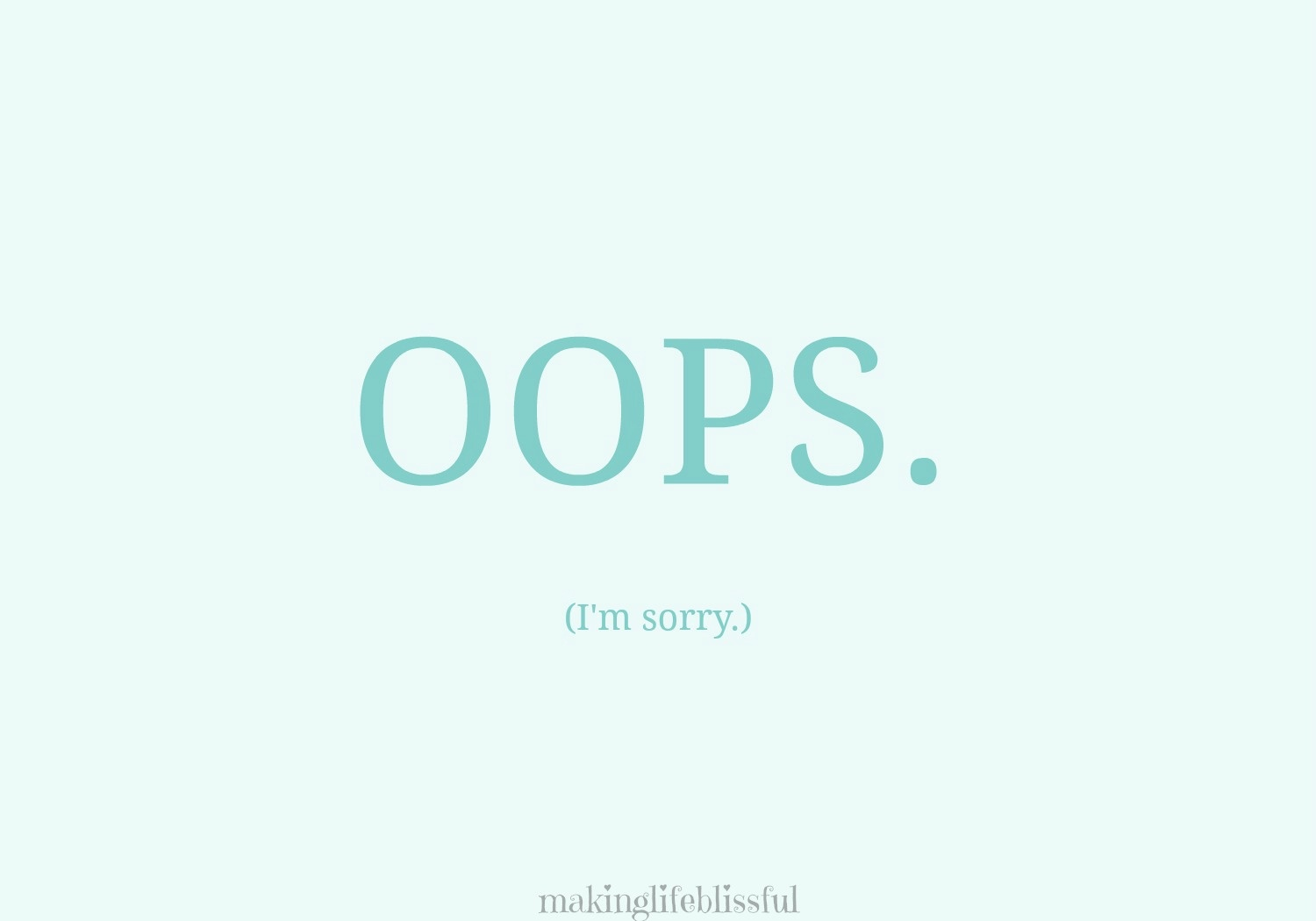 10 Ways To Apologize And Free Printable Cards | Making Life Blissful - Free Printable Apology Cards