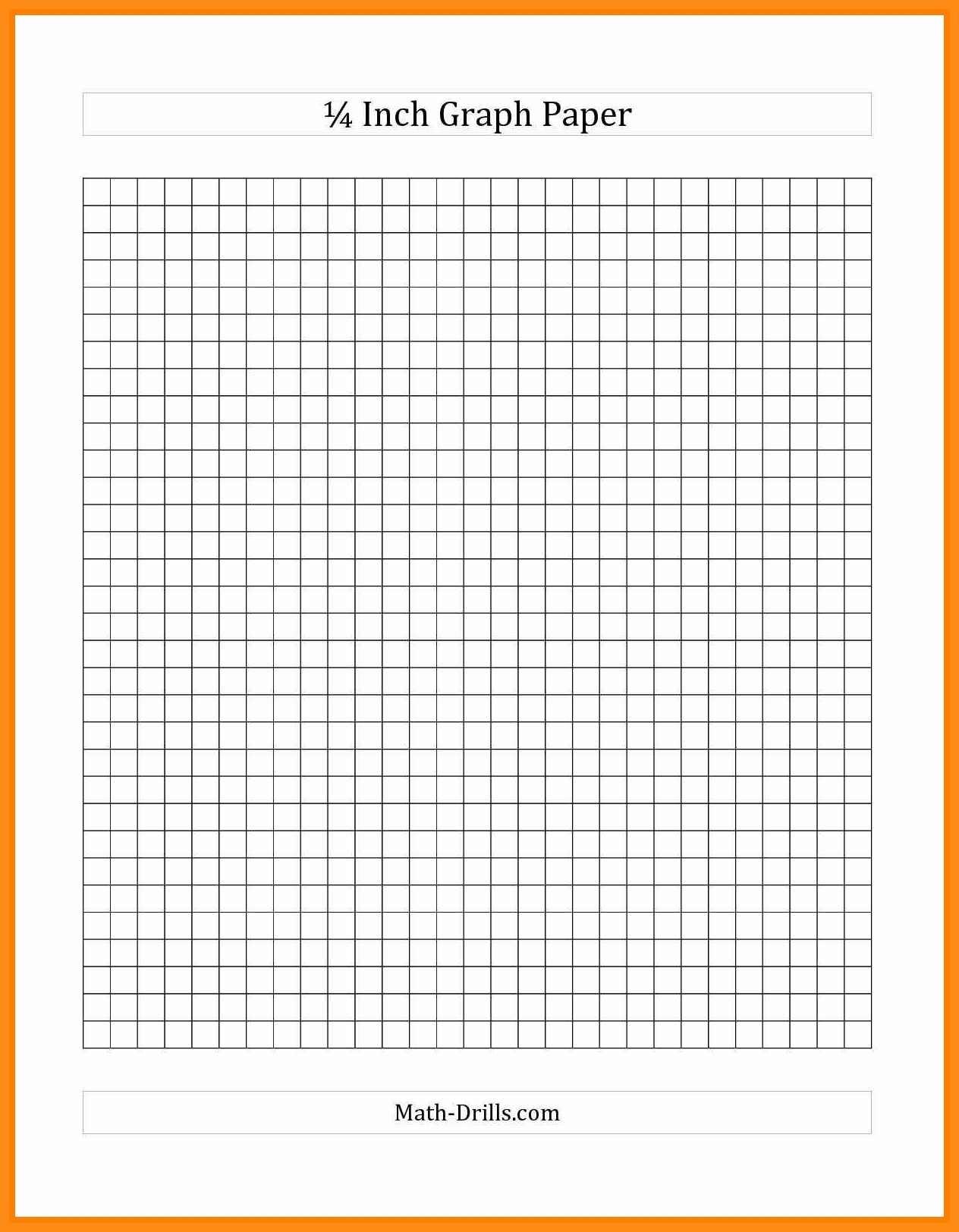 11-12 Quarter Inch Graph Paper | Jadegardenwi - Free Printable Graph Paper 1 4 Inch