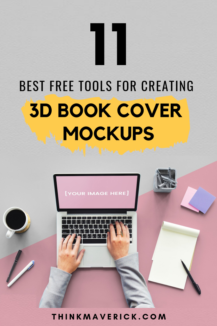 11 Best Free Tools For Creating Your 3D Book Cover Mockups - Book Cover Maker Free Printable