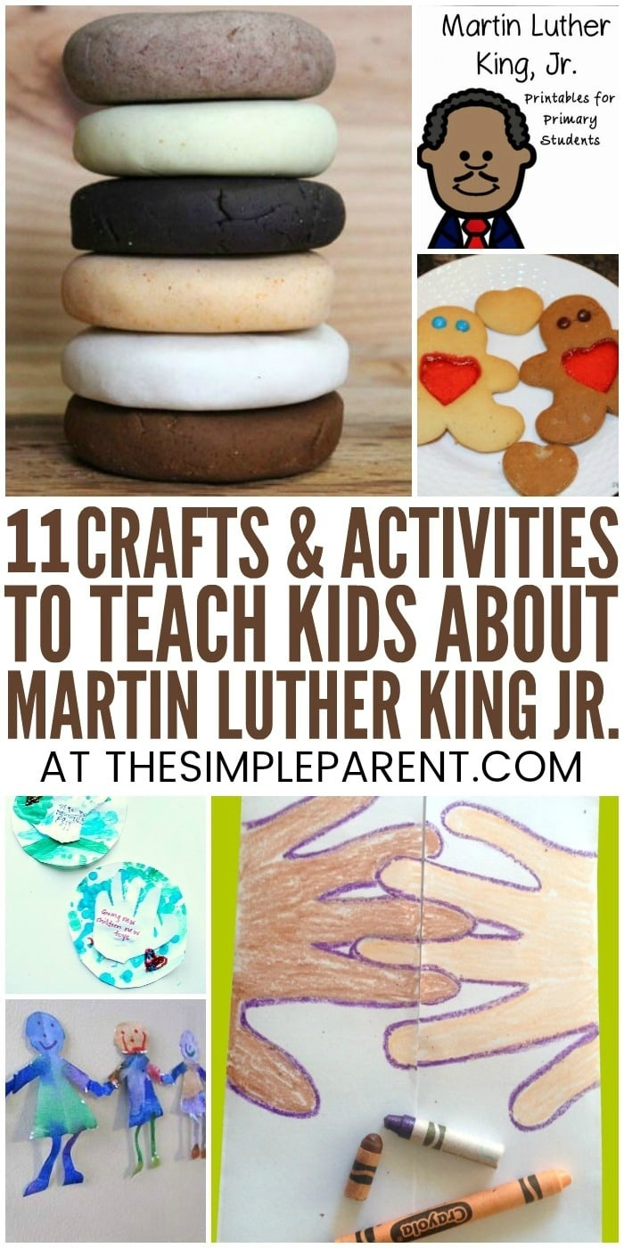 11 Educational Martin Luther King Jr Activities For Kindergarten - Free Printable Martin Luther King Jr Worksheets For Kindergarten
