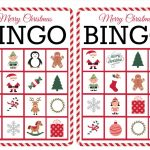 11 Free, Printable Christmas Bingo Games For The Family   Free Printable Xmas Cards Download