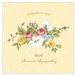 11 Free, Printable Condolence And Sympathy Cards   Free Printable Sympathy Verses
