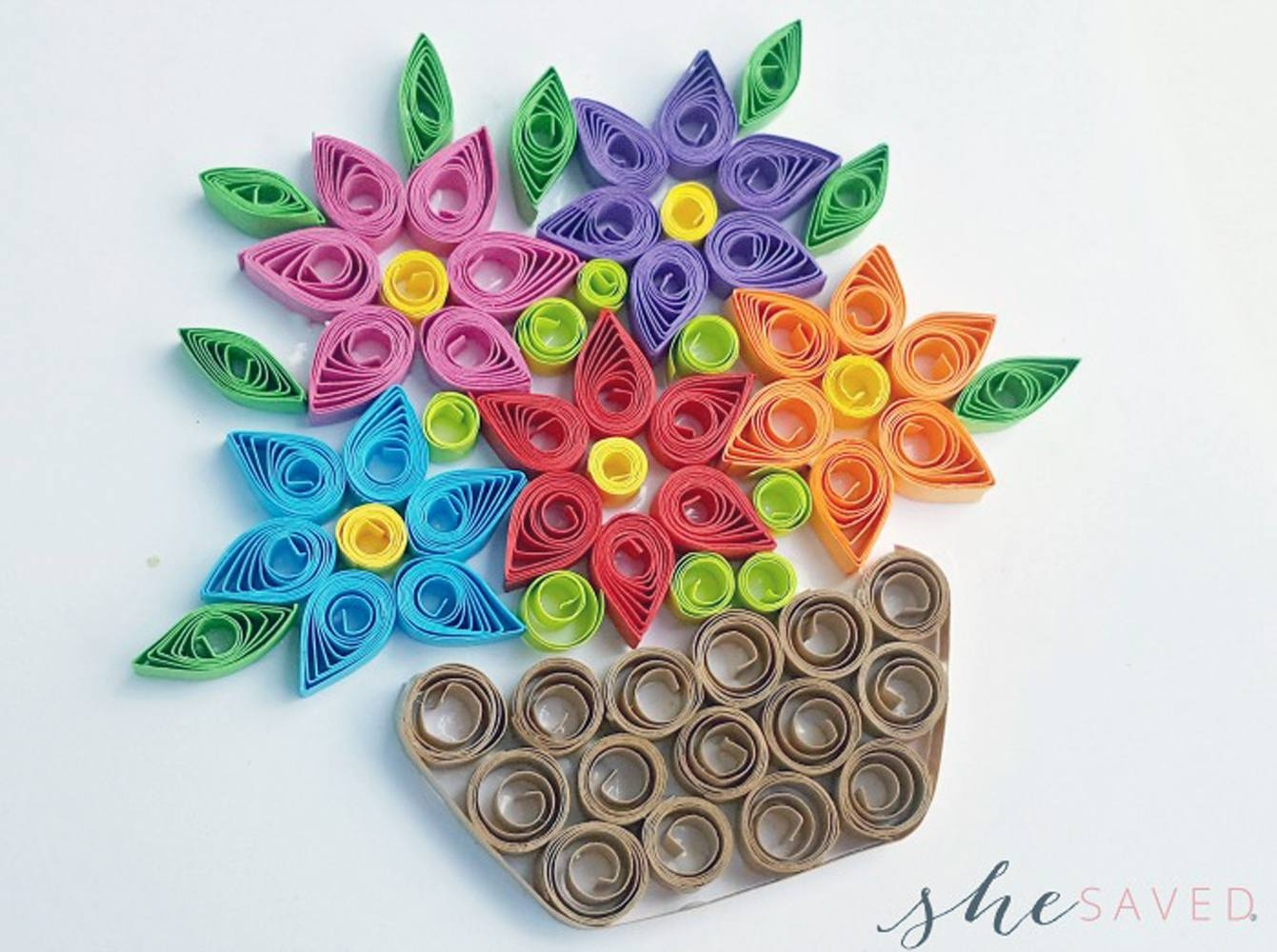 11 Paper Quilling Patterns For Beginners - Free Printable Quilling Patterns Designs