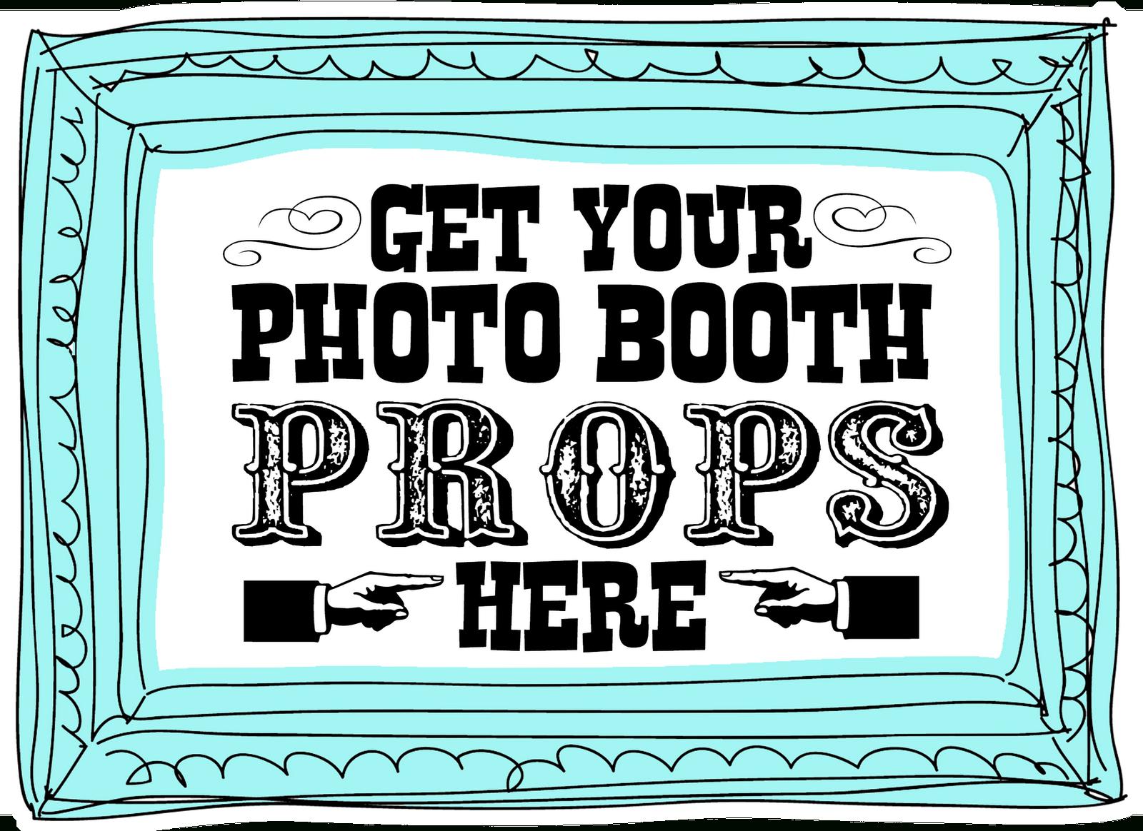 12 Best Photos Of Free Printable Birthday Photo Booth Signs - Photo - Free Printable Photo Booth Sign Template