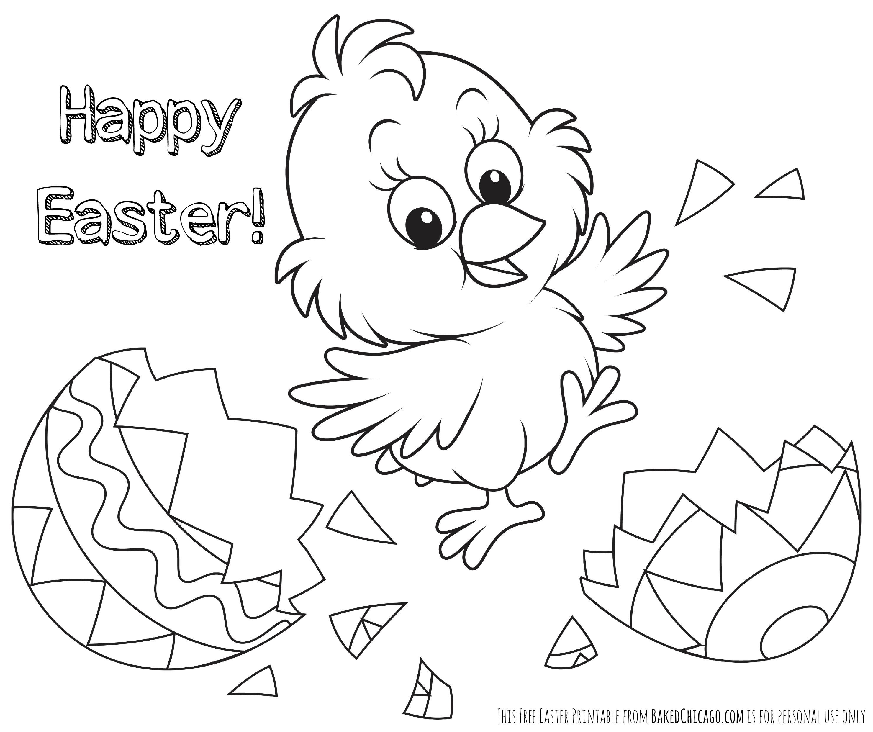 12 Free Printable Easter Coloring Pages | Topsailmultimedia - Free Printable Easter Pages