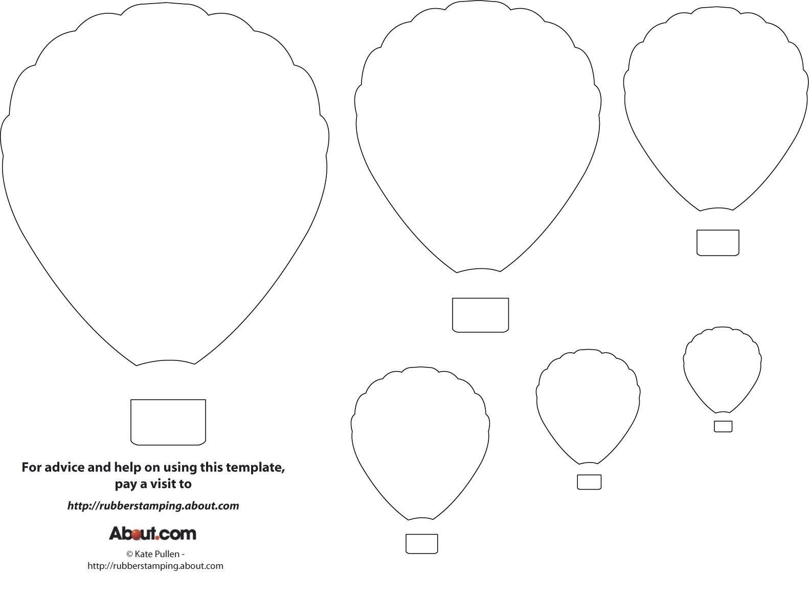 12 Free Printable Templates | Printables | Balloon Template, Diy Hot - Free Printable Templates