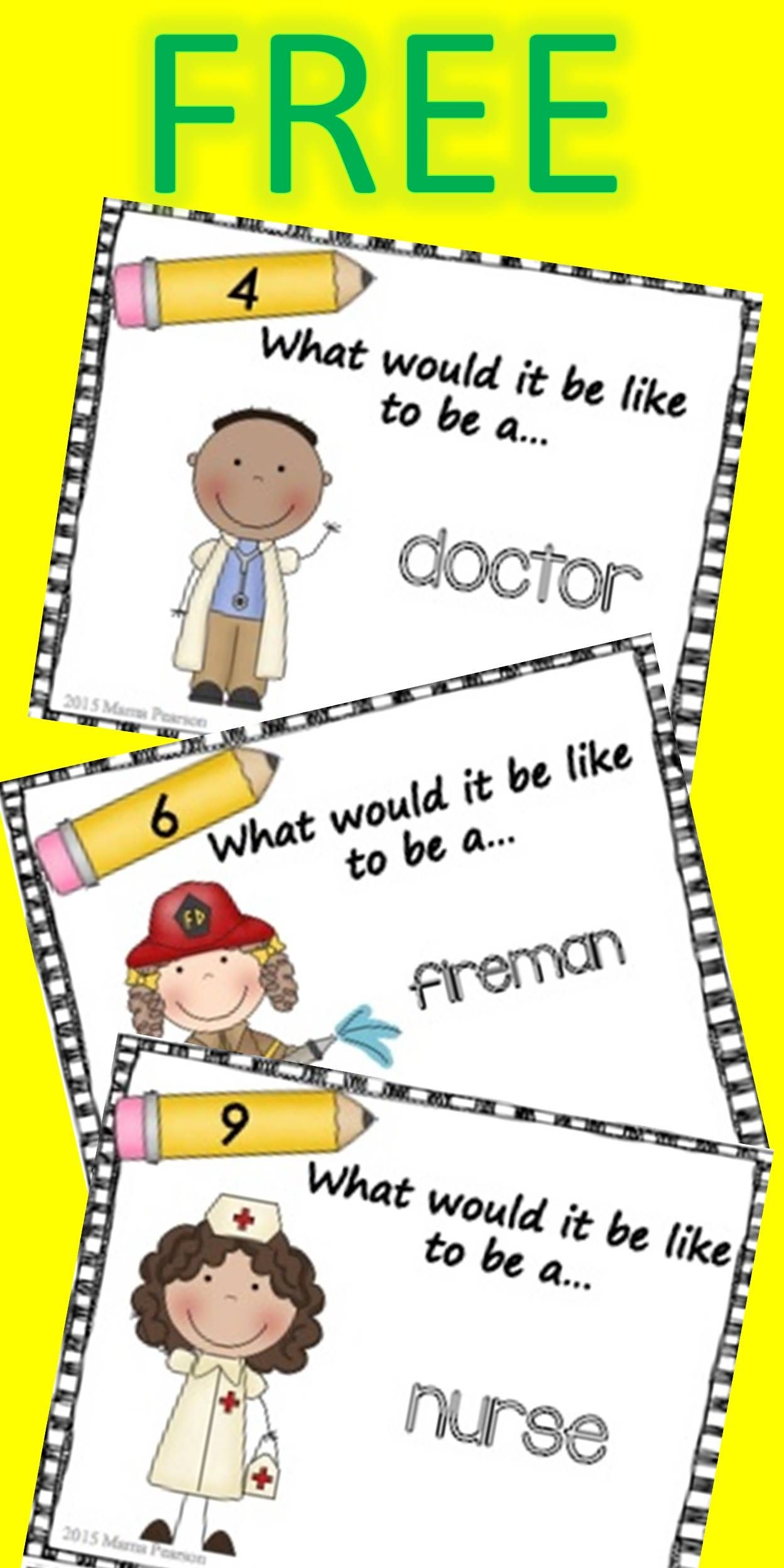 12 Free Task Cards To Give Your Students The Opportunity To Write - Free Printable Kindergarten Task Cards