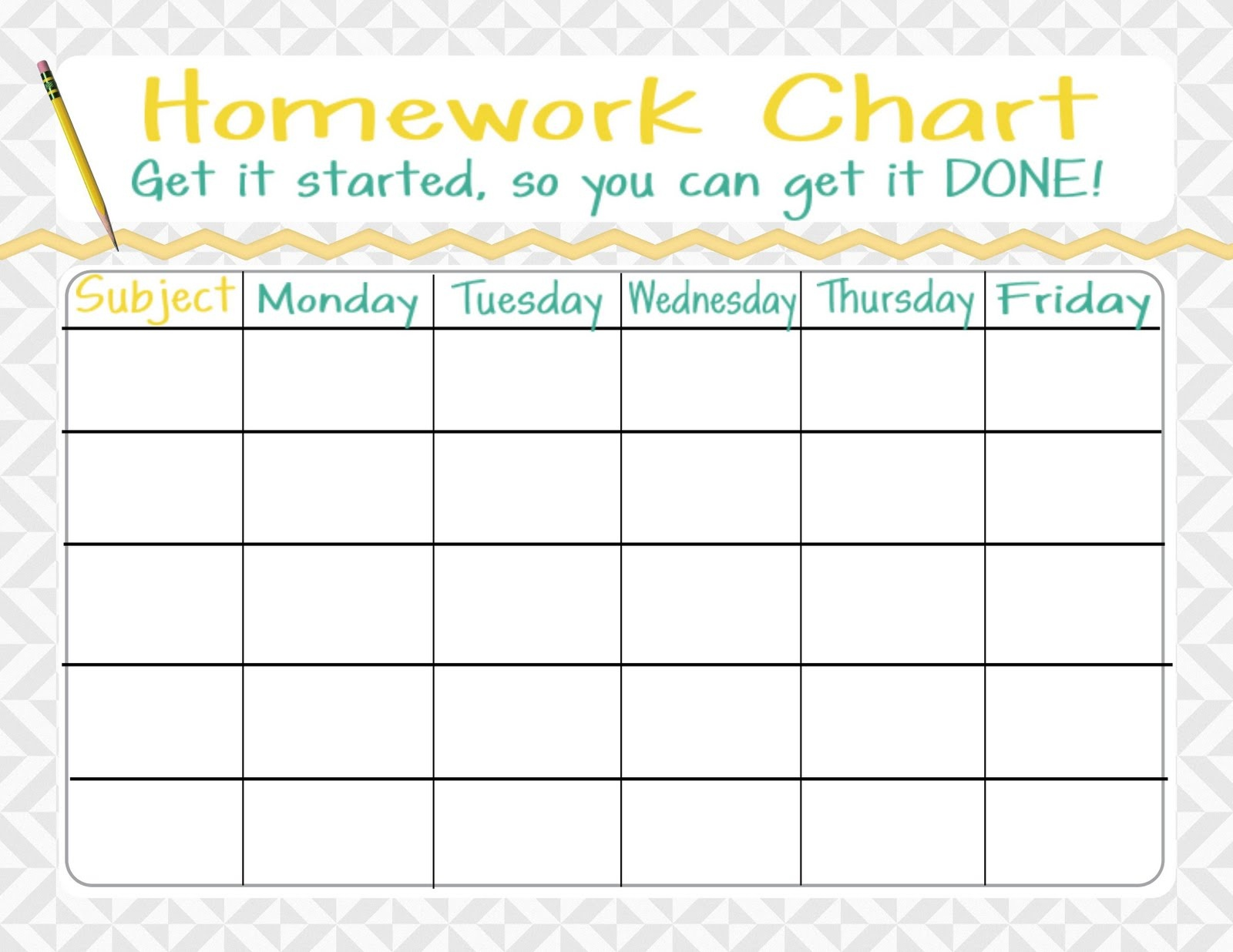 13+ Free Homework Assignment Sheet Template | Resumete - Free Printable Homework Assignment Sheets