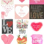 15 Free Valentine's Day Printables | Just Busy With Life | For   Free Printable Valentine's Day Decorations