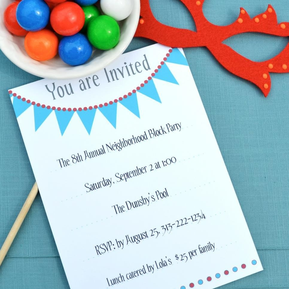 17 Free, Printable Birthday Invitations - Free Printable 18Th Birthday Invitations