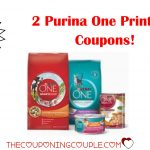 2 Purina One Printable Coupons ~ Both Coupons Are B1G1!   Free Printable Coupons For Purina One Dog Food