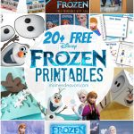 20+ Free Disney Frozen Printables {Activity Sheets & Party Decor}   Free Printable Frozen Birthday Invitations