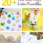 20+ Fun And Free Easter Printables For Kids | The Craft Train   Free Printable Craft Activities