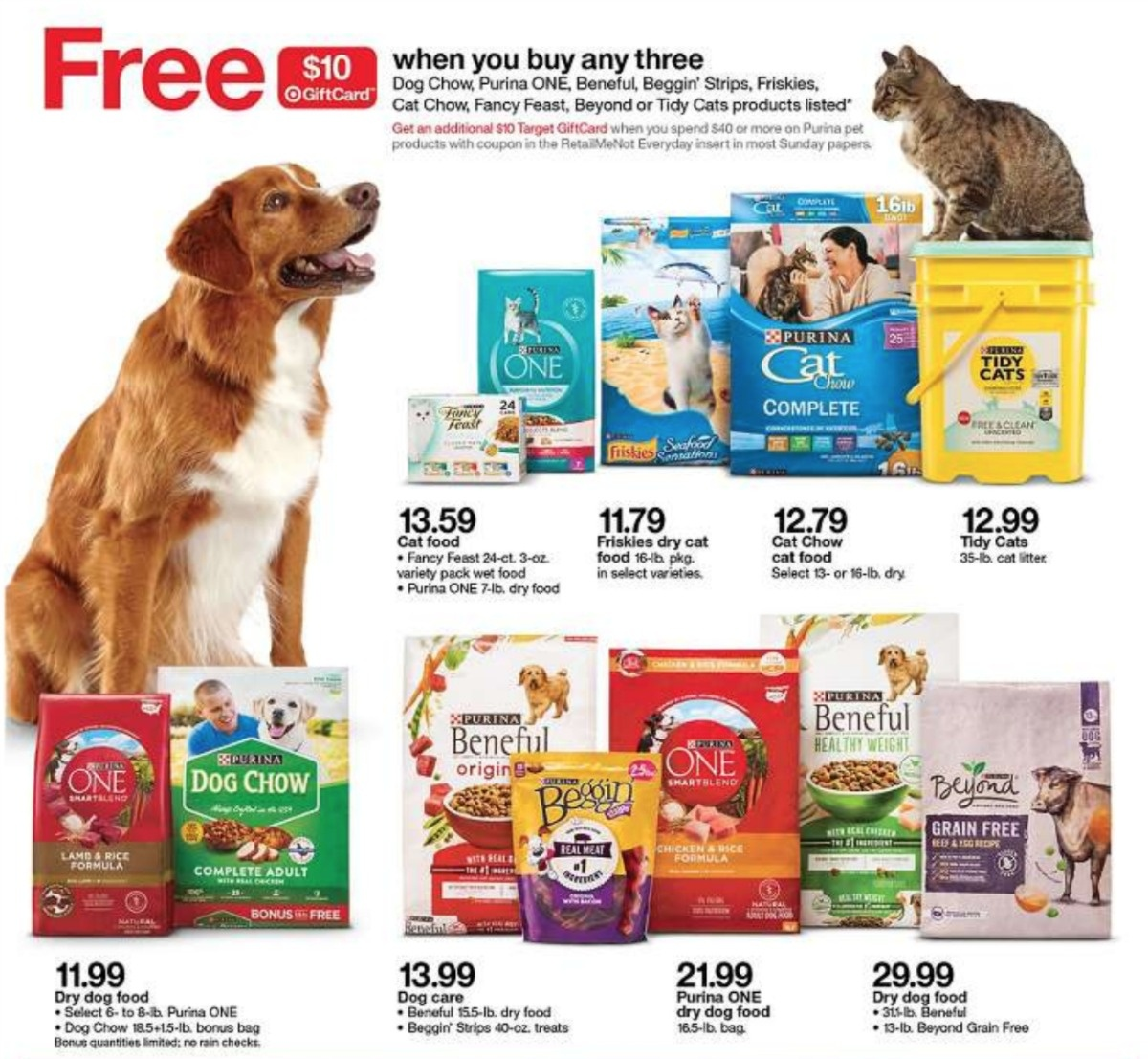 $20 Target Gift Card With $40 Purina Pet Purchase :: Southern Savers - Free Printable Coupons For Purina One Dog Food