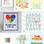 21 Free Printable Art Prints To Quickly Decorate The Barest Of Walls   Free Printable Nursery Resources